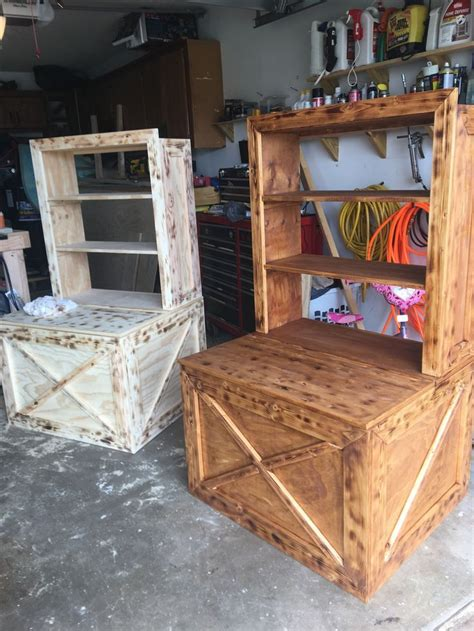 Diy Wood Toy Boxes For Bookshelf