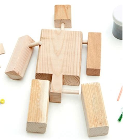 Diy Wood Transformer Toy