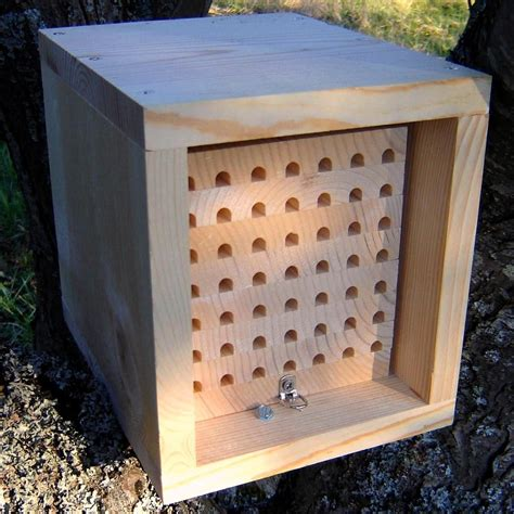 Diy Wood Trays For Mason Bee Supplies