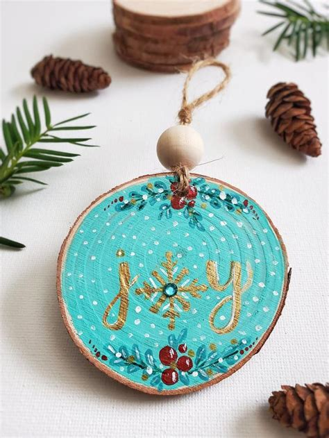Diy Wood Tree Ornament