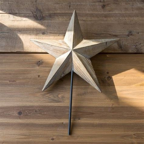 Diy Wood Tree Topper