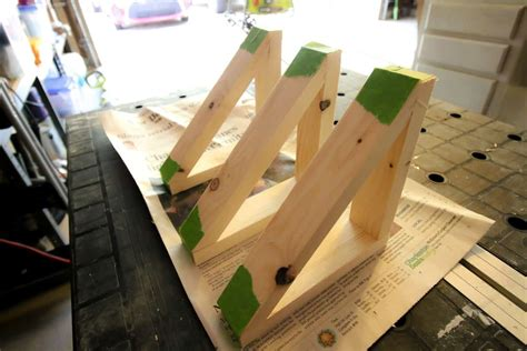 Diy Wood Triangle Shelf Bracket
