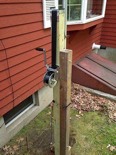 Diy Wood Tripod Antenna Amateur