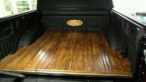 Diy Wood Truck Bed Floor Youtube