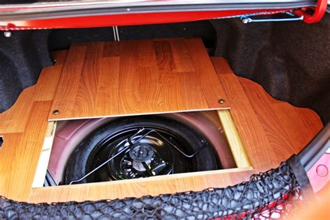 Diy Wood Trunk Floor