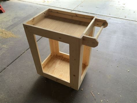 Diy Wood Utility Cart