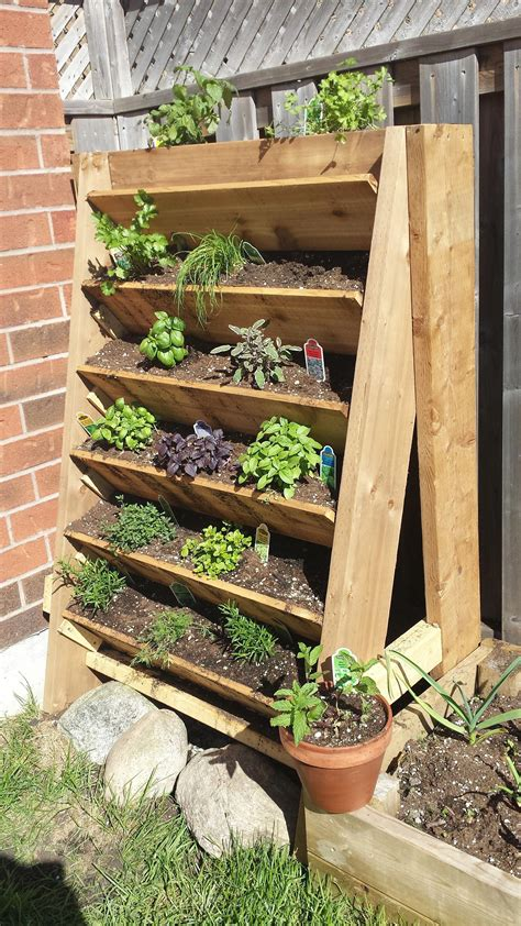Diy Wood Vegetable Planters For Patio