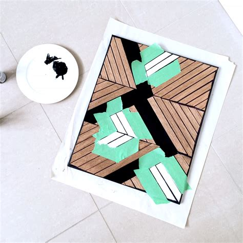 Diy Wood Veneer Artwork For Kids