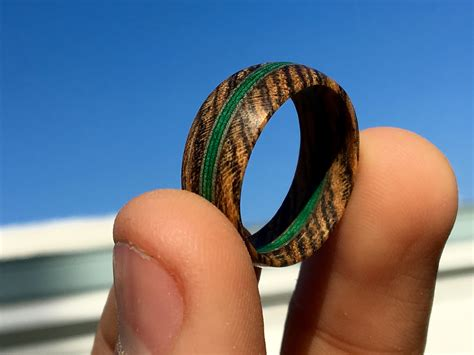 Diy Wood Veneer Rings And Things