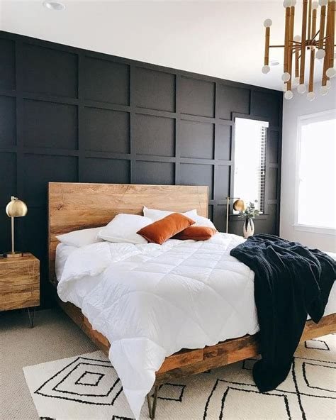 Diy Wood Wall Bedroom
