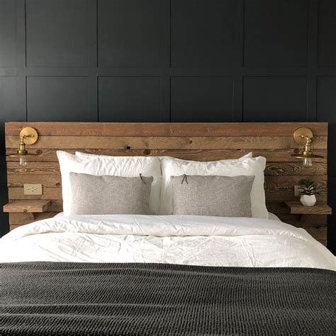 Diy Wood Wall Bedroom Headboard