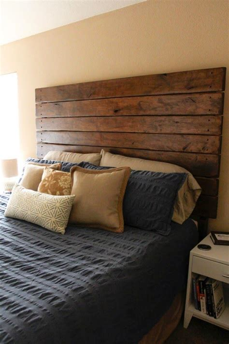 Diy Wood Wall Headboard Designs