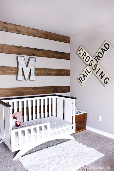 Diy Wood Wall Nursery