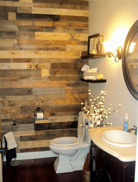 Diy Wood Wall Planks For Bathroom