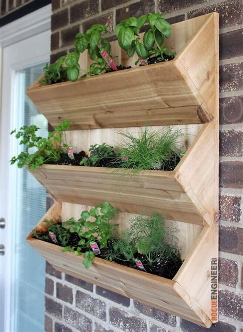 Diy Wood Wall Planter Site Pinterest Com