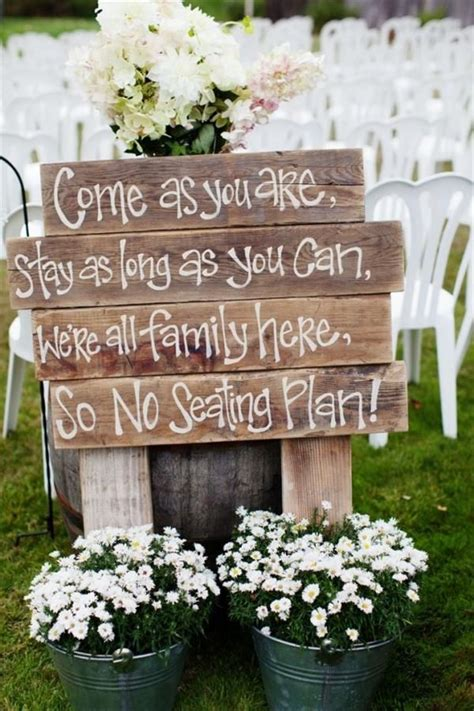 Diy Wood Wedding Projects Ideas