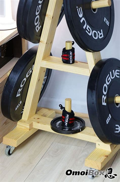 Diy Wood Weight Tree With Wheels