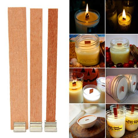 Diy Wood Wick Tabs For Candles