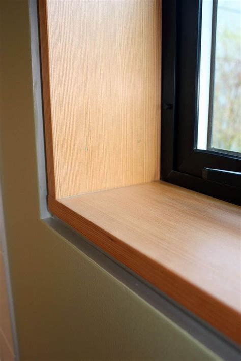Diy Wood Window Sills And Jambs Caps