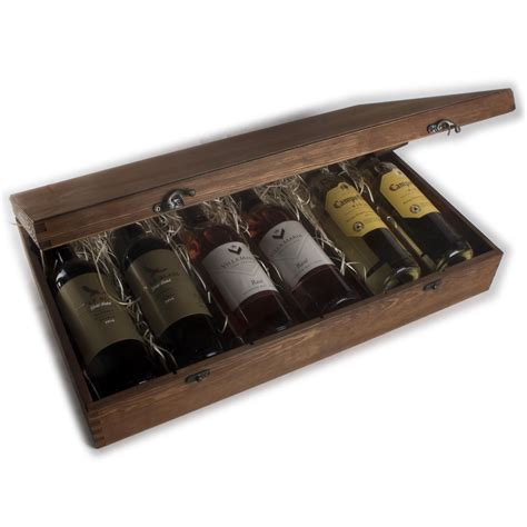Diy Wood Wine Carry Cases