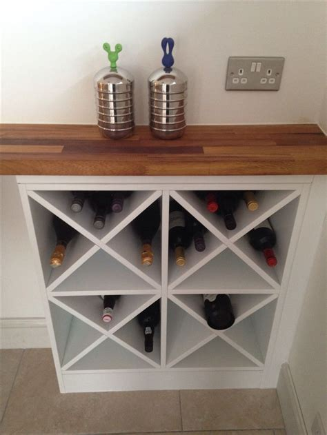 Diy Wood Wine Rack Cabinet