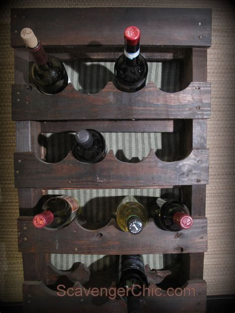 Diy Wood Wine Rack Table