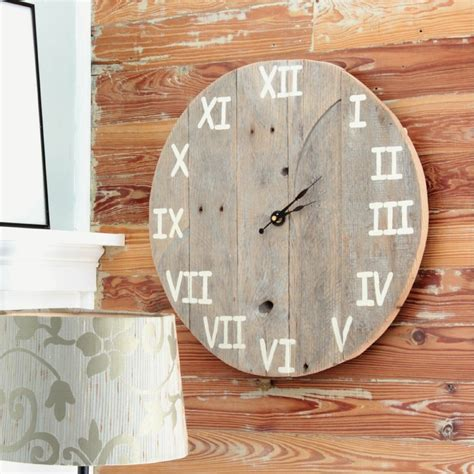 Diy Wood Working Clock Projects