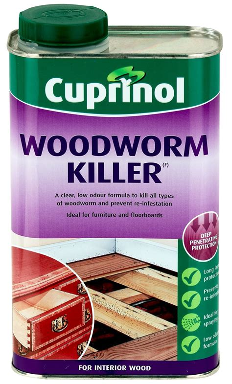 Diy Wood Worm Treatment