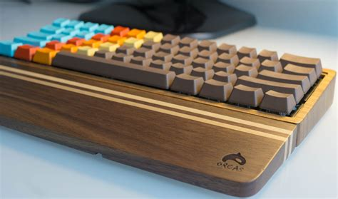 Diy Wood Wrist Rest Keyboard