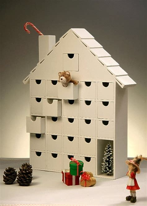 Diy Wooden Advent Calendar Plans
