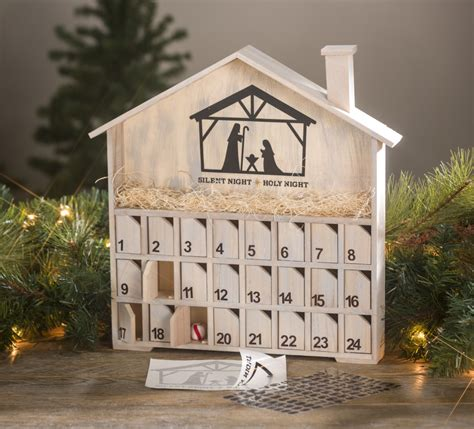Diy Wooden Advent Calendar With Doors