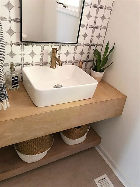 Diy Wooden Bath Vanity