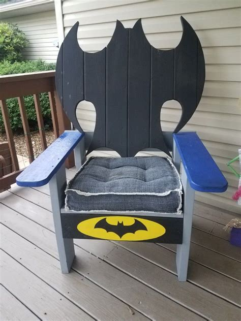 Diy Wooden Batman Chairs
