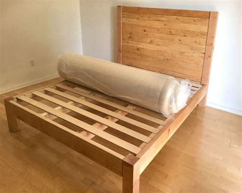 Diy Wooden Bed Frames Plans