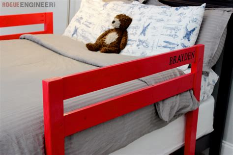 Diy Wooden Bed Safety Rail