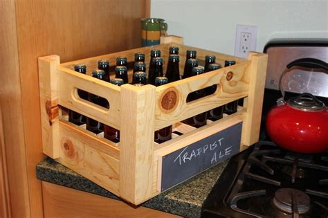 Diy Wooden Beer Case