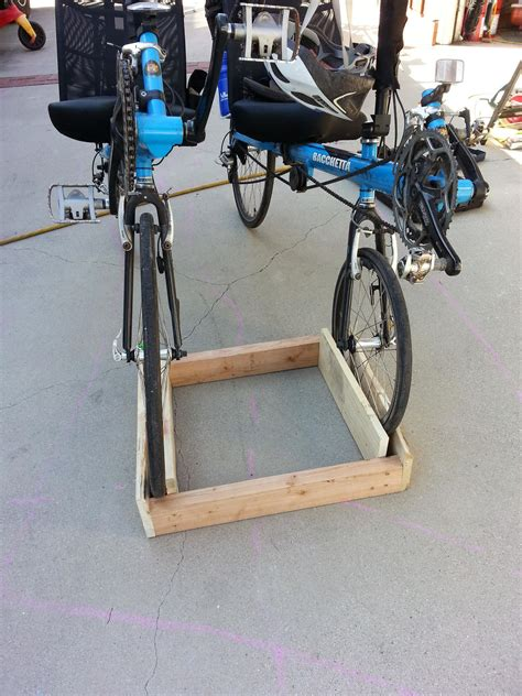 Diy Wooden Bicycle Stand