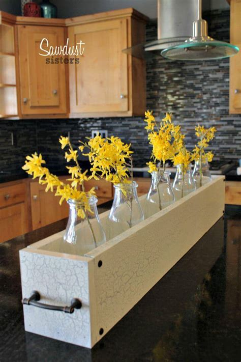 Diy Wooden Box Centerpiece