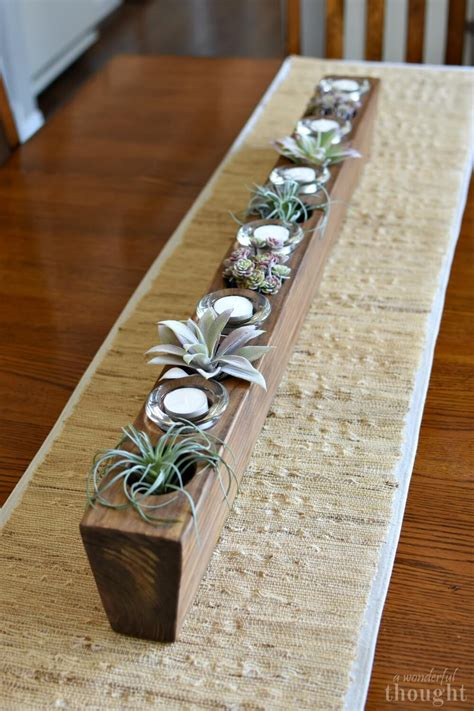 Diy Wooden Box Centerpiece For Sale