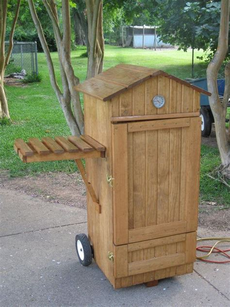 Diy Wooden Box Smoker