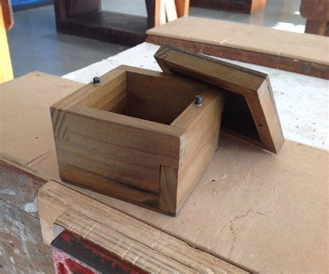 Diy Wooden Box Step