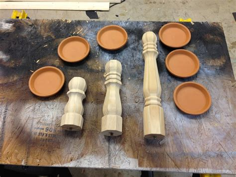 Diy Wooden Candle Stick Holders