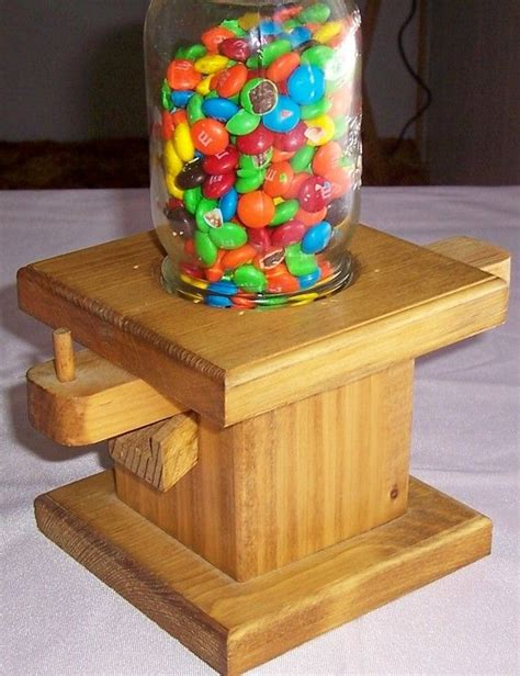 Diy Wooden Candy Dispenser Free Plans