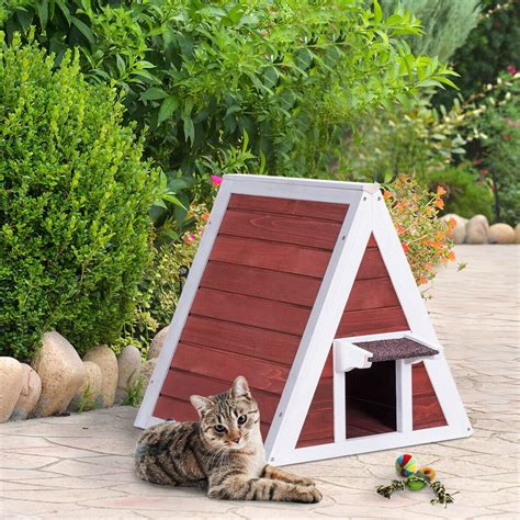 Diy Wooden Cat House With Instructions