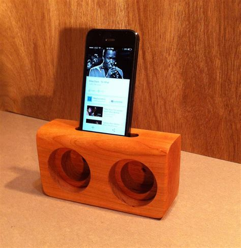 Diy Wooden Cell Phone Speaker