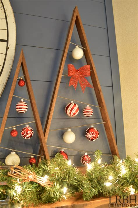 Diy Wooden Christmas Tree Ideas