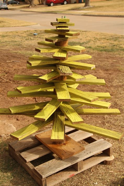 Diy Wooden Christmas Tree Pattern