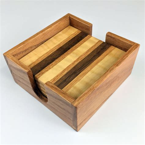 Diy Wooden Coaster Holder