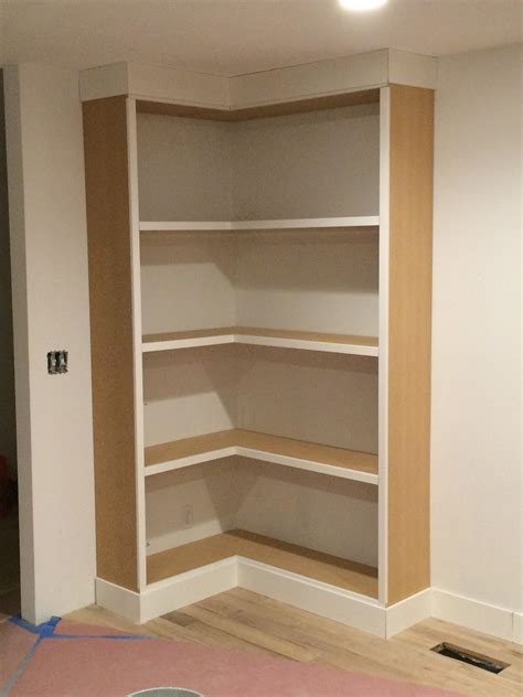 Diy Wooden Corner Bookcase