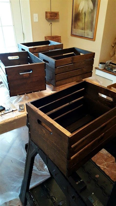 Diy Wooden Crate Shoe Storage